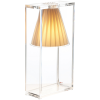 LAMPE A POSER LIGHT AIR JAUNE de KARTELL