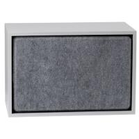 ISOLATION PHONIQUE STACKED DE MUUTO, LARGE, GRIS