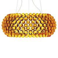 CABOCHE GRANDE LED - SUSPENSION JAUNE AMBRÉ / LED de FOSCARINI