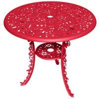 TABLE INDUSTRY GARDEN ROUGE de SELETTI