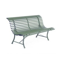 BANC LOUISIANE 150 CM, 23 couleurs de FERMOB