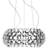 SUSPENSION CABOCHE MEDIA LED, 2 couleurs de FOSCARINI