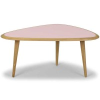TABLE BASSE SMALL, Rose de RED EDITION
