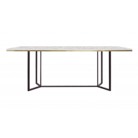 TABLE DE REPAS HORIZON, Blanc de RED EDITION