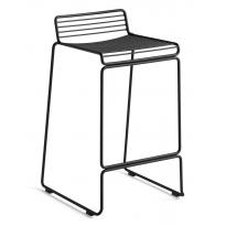 TABOURET DE BAR HEE LOW, H.65 cm, 5 couleurs de HAY