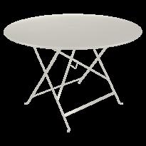 TABLE PLIANTE BISTRO 117CM, Gris argile de FERMOB