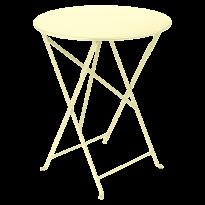 TABLE PLIANTE BISTRO 60CM, Citron givré de FERMOB