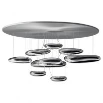 PLAFONNIER MERCURY, 2 options de ARTEMIDE