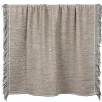 PLAID SILVER NOMAD, 140 x 200 cm, Beige d'ETHNICRAFT ACCESSORIES