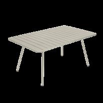 TABLE LUXEMBOURG 165X100CM, Gris argile de FERMOB