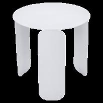 TABLE BASSE BEBOP, D.45, Blanc coton de FERMOB