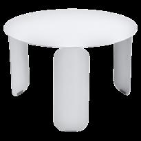 TABLE BASSE BEBOP, D.60, Blanc coton de FERMOB