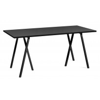 TABLE RECTANGULAIRE LOOP STAND, 4 tailles, 3 coloris de HAY