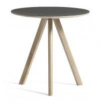 TABLE RONDE 50 COPENHAGUE, 2 options, 8 couleurs, de HAY