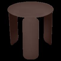 TABLE BASSE BEBOP, D.45, Rouille de FERMOB