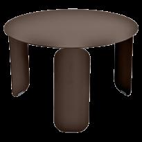 TABLE BASSE BEBOP, D.60, Rouille de FERMOB