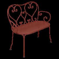 BANQUETTE 1900, Ocre rouge de FERMOB