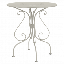 GUÉRIDON 1900, Gris argile de FERMOB