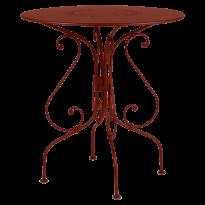 GUÉRIDON 1900, Ocre rouge de FERMOB
