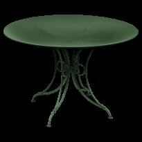 TABLE 1900, D.117 CM, Cèdre de FERMOB