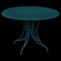 TABLE 1900, D.117 CM, Bleu acapulco de FERMOB