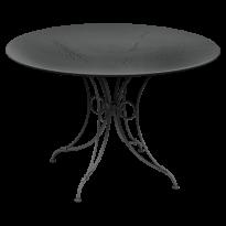 TABLE 1900, D.117 CM, Carbone de FERMOB