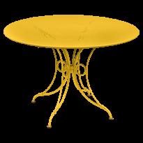 TABLE 1900, D.117 CM, Miel de FERMOB