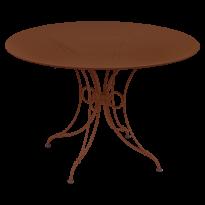 TABLE 1900, D.117 CM, Ocre rouge de FERMOB