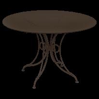 TABLE 1900, D.117 CM, Rouille de FERMOB