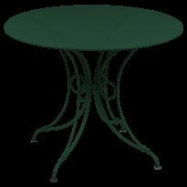 TABLE 1900, D.96 CM, Cèdre de FERMOB
