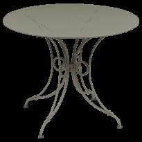 TABLE 1900, D.96 CM, Muscade de FERMOB