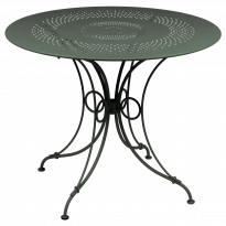 TABLE 1900, D.96 CM, Romarin de FERMOB
