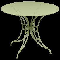 TABLE 1900, D.96 CM, Tilleul de FERMOB