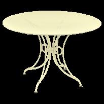 TABLE 1900, D.117 CM, Citron givré de FERMOB