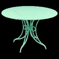 TABLE 1900, D.117 CM, Vert opaline de FERMOB