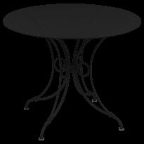 TABLE 1900, D.96 CM, Réglisse de FERMOB