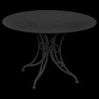 TABLE 1900, D.117 CM, Réglisse de FERMOB