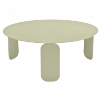 TABLE BASSE BEBOP, D.80, Tilleul de FERMOB