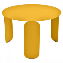 TABLE BASSE BEBOP, D.60, Miel de FERMOB