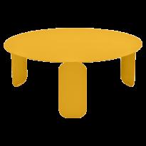 TABLE BASSE BEBOP, D.80, Miel de FERMOB