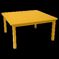 TABLE CRAFT 143X143CM, 23 couleurs de FERMOB