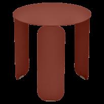 TABLE BASSE BEBOP, D.45, Ocre rouge de FERMOB