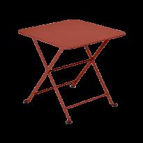 TABLE BASSE ENFANT TOM POUCE 50 x 50 CM, Ocre rouge de FERMOB