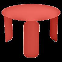 TABLE BASSE BEBOP, D.60, Capucine de FERMOB