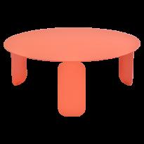TABLE BASSE BEBOP, D.80, Capucine de FERMOB