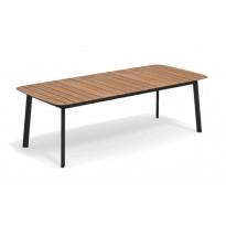 TABLE SHINE, 225 x 100 cm, Noir de EMU