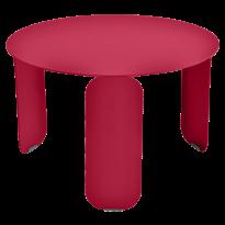 TABLE BASSE BEBOP, D.60, Rose praline de FERMOB