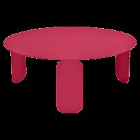 TABLE BASSE BEBOP, D.80, Rose praline de FERMOB