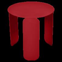 TABLE BASSE BEBOP, D.45, Coquelicot de FERMOB