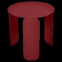 TABLE BASSE BEBOP, D.45, Piment de FERMOB